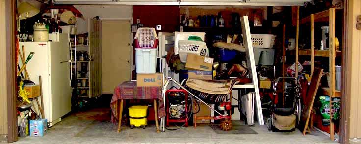 Garage da svuotare